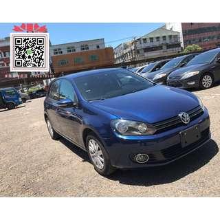 【2012年 福斯 GOLF 藍】專賣熱門中古車、二手車、改裝車、新古車