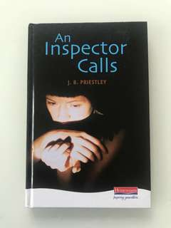 An Inspector Calls by J.B. Priestly.