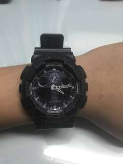 G-shock GA 100CG手錶