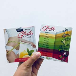 GLUTA LIPO Whitening & Slimming Juice