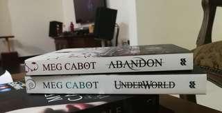 Abandon & Underworld by Meg Cabot