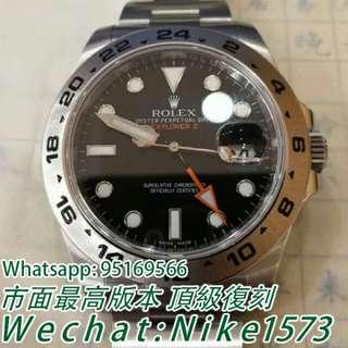 Rolex勞力士探險家型系列216570-77210黑盤腕錶男士機戒錶