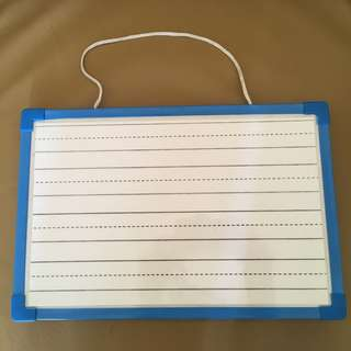 A4 size Magnetic Whiteboards with Writing Template