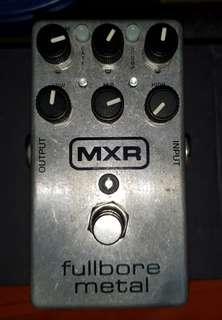 MXR Fullbore Metal with Ernieball strap locks with free strap