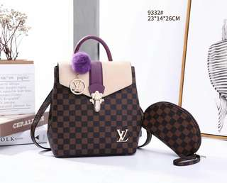 Louis Vuitton Backpack Lv 2 in1