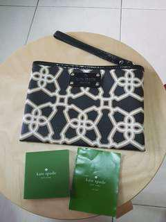 BRAND NEW! Kate Spade Small Black Pouch