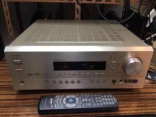 ONKYO TX-SR600 高檔安橋6.1聲道擴音機 金色