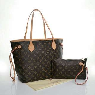 LV Neverfull LV NEVERFULL  2IN1 #40156