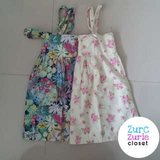 Pambahay Floral Dresses | Size 1.5-2yo | Very Good Condition