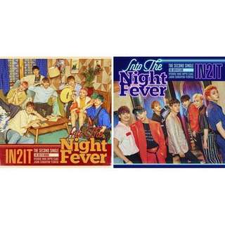 [PREORDER] IN2IT - 2nd Single Album 'Into the Night Fever'