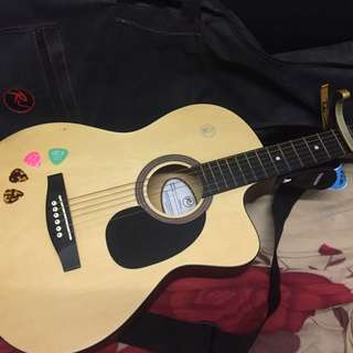 RJ Manila Acoustic Guitar MCG9443 with FREEBIES