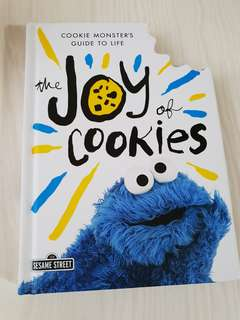 Autographed Cookie Monster's Guide to Life - The Joy Of Cookies