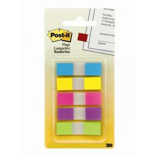 "3M Post-It 683-5CB (R) flag 100 flags 47"" x 1.7"""
