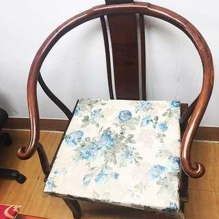 [特價8000]胡桃木太師椅*2