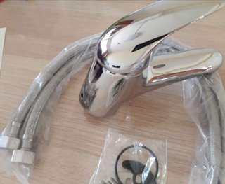 Hot/ Cold Water Mixer Tap for Wash Basin