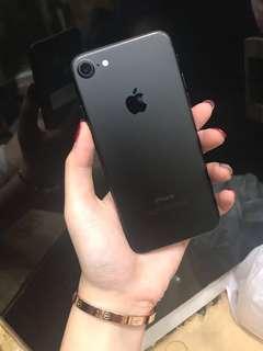 Iphone 7 black matte 128 gb scond
