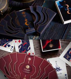Helius Sun & Luna Moon Playing Cards Deluxe Edition