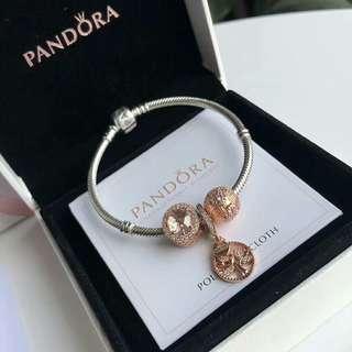 Pandora Bracelet 3charms