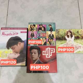 Kathryn Bernardo and Daniel Padilla's Album and Magazines (shipping fee)