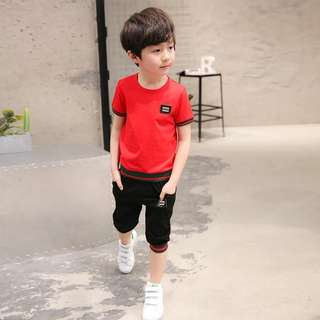 Fashion kids boys sets