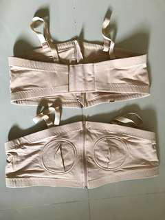 🚚 Pumping Bras in L size Nude Colour