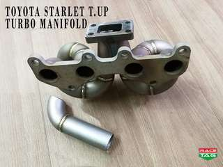 TOYOTA STARLET TURBO UP TURBO MANIFOLD