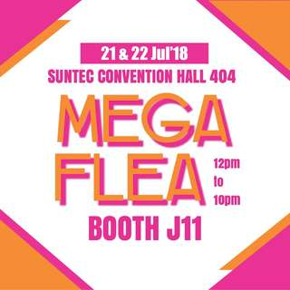 MEGA FLEA 2018 @ Suntec Convention Hall 404, Booth J11