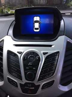 Ford Ecosport GPS Head Unit HU TV HD