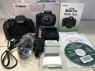 Canon 700D 單機身