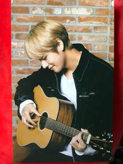 OFFICIAL BTS V MEDIHEAL PHOTOCARD