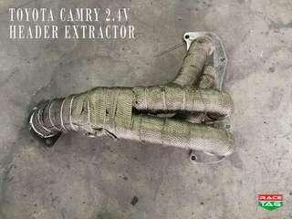 TOYOTA CAMRY 2.4V 4X1 HEADER EXTRACTOR