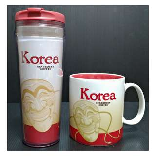 【9/1前任兩件折扣250】絕版 STARBUCKS 星巴克 韓國 KOREA 典藏ICON 城市杯 馬克杯 隨行杯