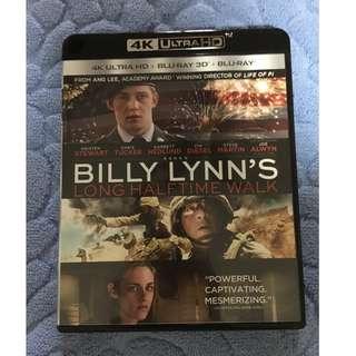 🚚 (4K UHD) Billy Lynn's Long Halftime Walk (2016) 4K Ultra HD Blu-ray