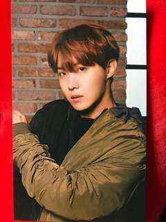 OFFICIAL BTS JHOPE Photo cards (Mediheal and Puma)