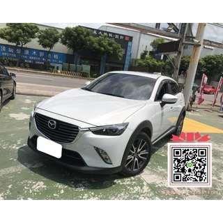 【2017年 馬自達 CX-3 白】專賣熱門中古車、二手車、改裝車、新古車
