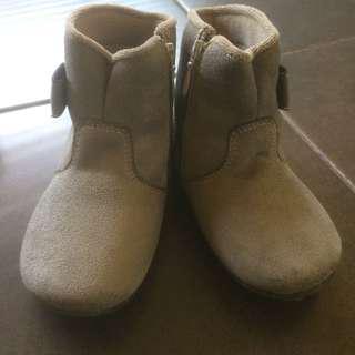 boot grey kids