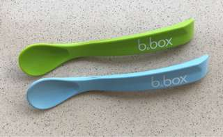 Silicone spoon b.box 2pcs