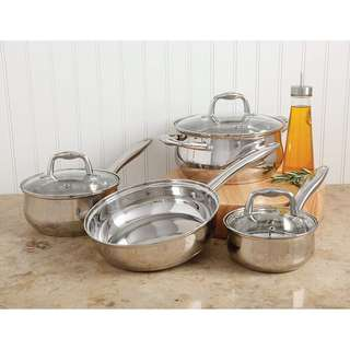 Sunbeam 7pc Stainless Steel Cookware Set