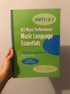 Units 1&2 VCE Music Performance(Theory & Aural)