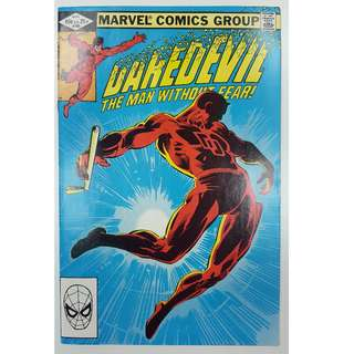 Daredevil #185 (1st Series 1982)- Legendary Frank Miller Cover & Story! Vs The Kingpin!