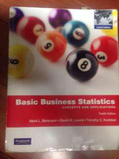 🚚 basic business statistics 統計學用書 大學