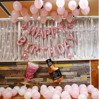 (In Stock)Party Decoration Set-Happy Birthday