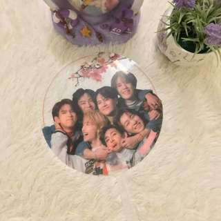 [READYSTOCK]GOT7 Transparent Hand Fan