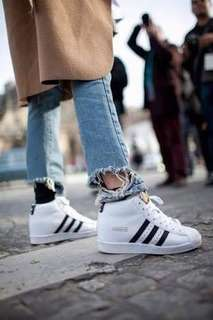 Adidas Superstar High Tops