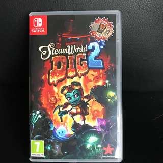 Steamworld dig 2 for switch console