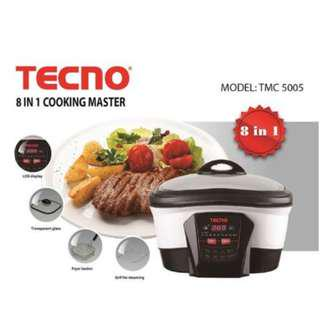 (open to trades!) Tecno 8 in 1 multi cooking (TMC5005)