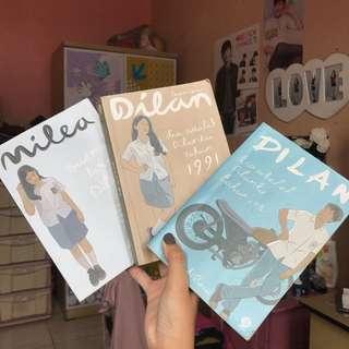 Novel Dilan 1990 & 1991, Milea