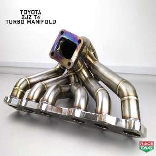 TOYOTA 2JZ T4 TURBO MANIFOLD EXHAUST