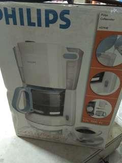 Philips coffe maker 1.3 liter (mesin kopi)