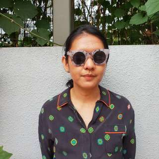 Pull & Bear Marble Sunglasses